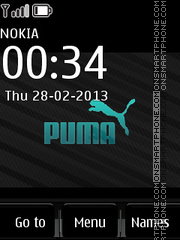 Puma Dark theme screenshot