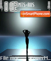 3D 01 theme screenshot
