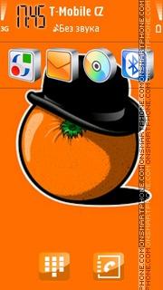 Orange. theme screenshot