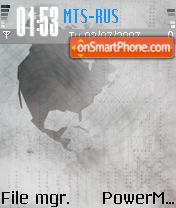 Flat Linux theme screenshot