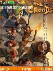 The Croods theme screenshot