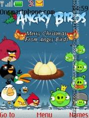 Angry Birds Christmas es el tema de pantalla