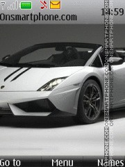 Lamborghini Gallardo LP570 theme screenshot