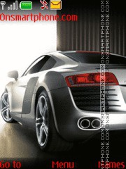 Audi R8 34 theme screenshot