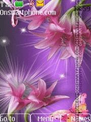 Lovely Flowers HD theme screenshot