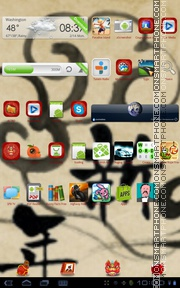 Ausplclous tema screenshot