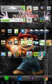 Скриншот темы Super Mario Bros 01