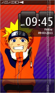Naruto Full Touch Nokia theme screenshot