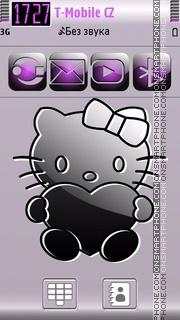 Kitty Cut 01 es el tema de pantalla