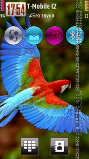Parrot HD v5 theme screenshot