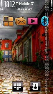 Nice View HD Alleyway theme screenshot