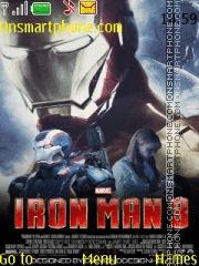 Iron Man 3 tema screenshot