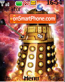 Dalek 2005 theme screenshot