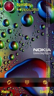 Passion Nokia theme screenshot