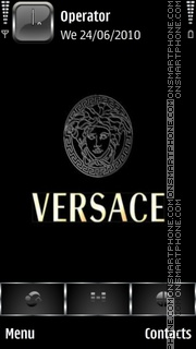 Versace theme screenshot