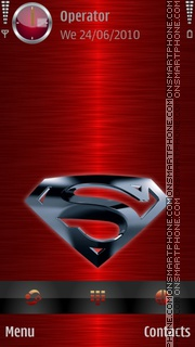 Superman 3D theme screenshot