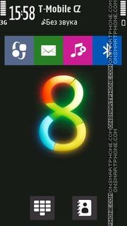 W8 Style es el tema de pantalla