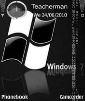 Windows 7 Black es el tema de pantalla