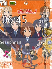 K-ON Theme-Screenshot