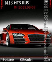 Скриншот темы Audi-R8