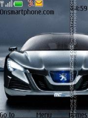 Peugeot RC theme screenshot