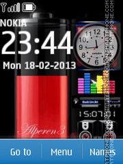 Mac Flash Nokia theme screenshot