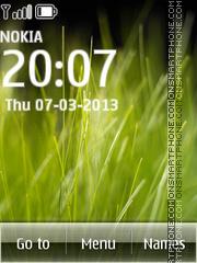 Capture d'écran WM 6 thème