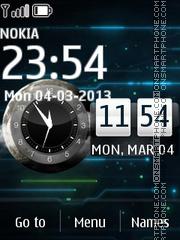 Abstract Circuit theme screenshot