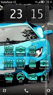 Lamborghini Aventador 01 theme screenshot
