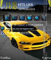Dodge Charger S60v3 theme screenshot