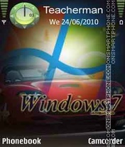 Windows7 es el tema de pantalla