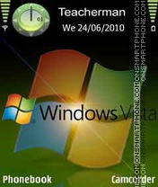WindowsVista theme screenshot