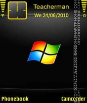 Glowing Windows es el tema de pantalla