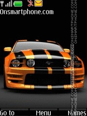 Ford Mustang 99 theme screenshot