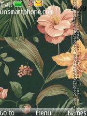 Drawn Flora theme screenshot