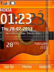 My Guitar 01 theme screenshot
