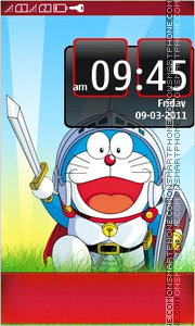 Doreamon theme screenshot