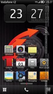 Gear theme screenshot