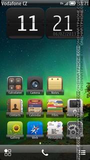Green Theme 04 es el tema de pantalla