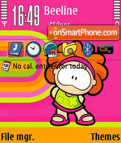 Wamba theme screenshot