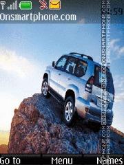 Toyota Land Cruiser Prado theme screenshot