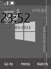 Windows Phone Grey theme screenshot
