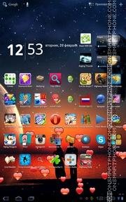 Sweet Heart 02 theme screenshot