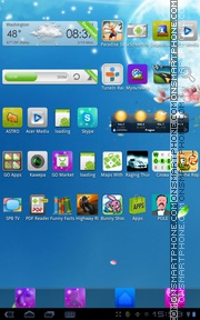 Natural 02 tema screenshot
