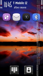 Evening HD v5 tema screenshot