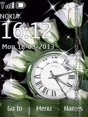 White Rose tema screenshot