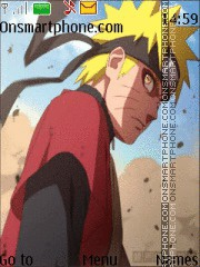 Naruto Shippuden theme screenshot