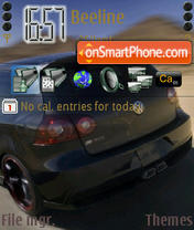VW Golf Gti 2.0Tfsi theme screenshot