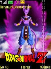 Dragon Ball Z Battle of Gods tema screenshot