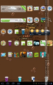 Coffee Cup 01 tema screenshot